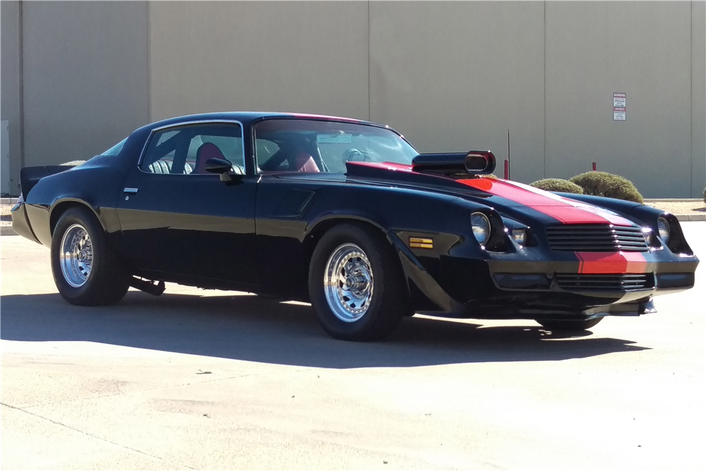 1979 CHEVROLET CAMARO Z/28 CUSTOM COUPE - Side Profile - 191197