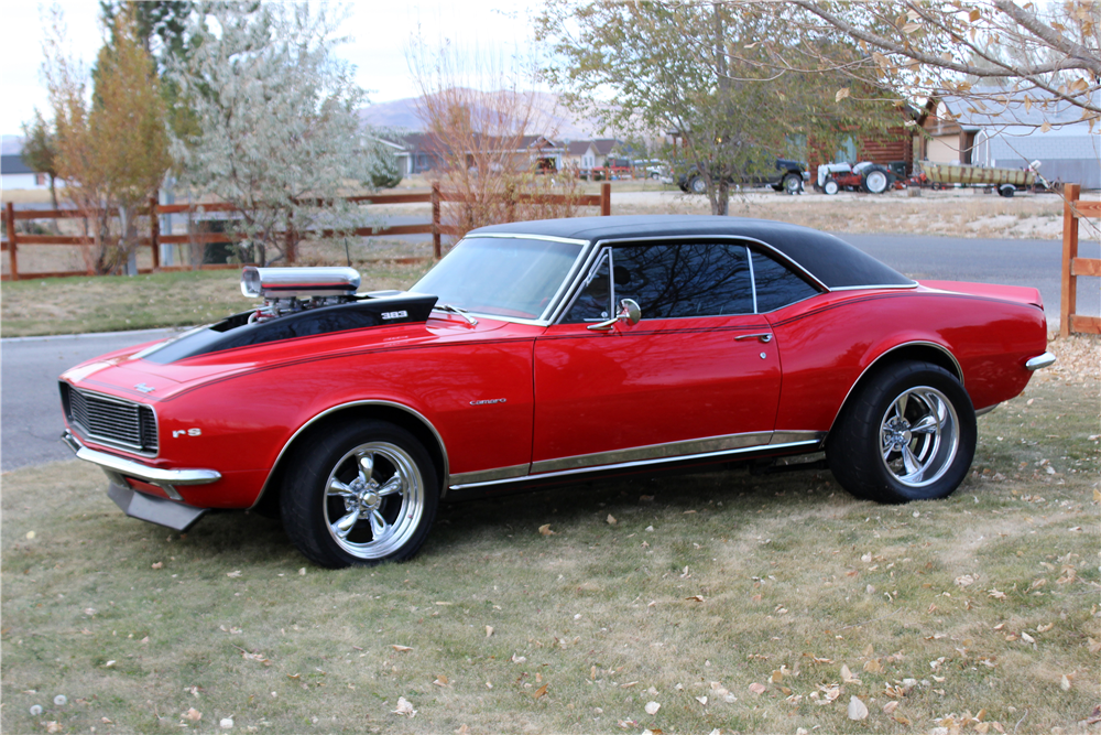 1967 CHEVROLET CAMARO RS CUSTOM COUPE - Front 3/4 - 191205