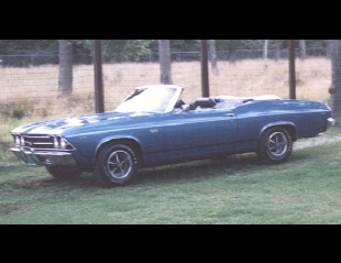 1969 CHEVROLET CHEVELLE SS CONVERTIBLE -  - 19122