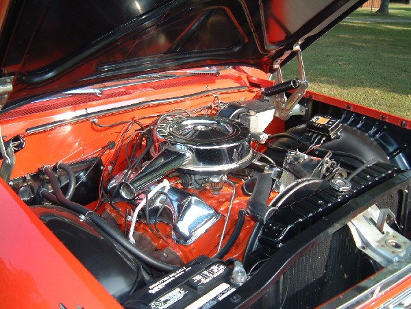 1961 CHEVROLET IMPALA SS CONVERTIBLE - Engine - 19126