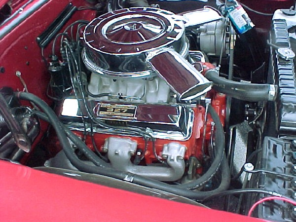 1965 CHEVROLET CHEVELLE COUPE - Engine - 19128