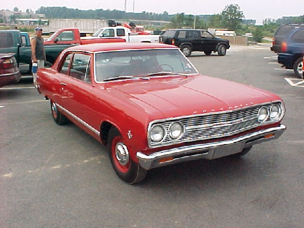 1965 CHEVROLET CHEVELLE COUPE - Front 3/4 - 19128