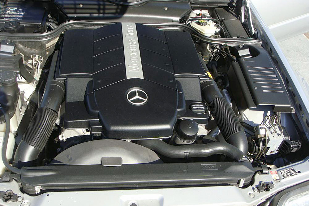 1999 MERCEDES-BENZ SL500 CONVERTIBLE - Engine - 191290