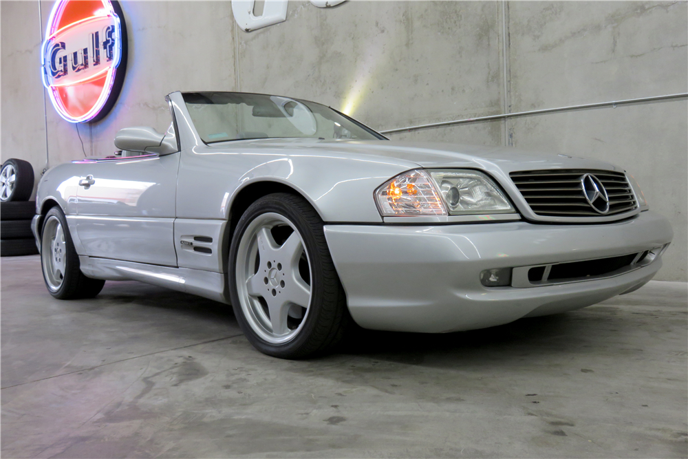 1999 MERCEDES-BENZ SL500 CONVERTIBLE - Front 3/4 - 191290