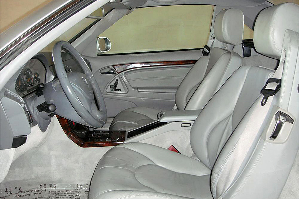 1999 MERCEDES-BENZ SL500 CONVERTIBLE - Interior - 191290