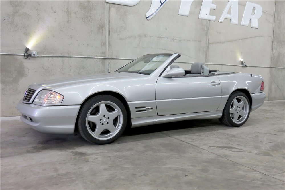 1999 MERCEDES-BENZ SL500 CONVERTIBLE - Side Profile - 191290