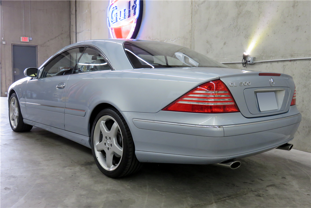 2003 MERCEDES-BENZ CL500  - Rear 3/4 - 191291
