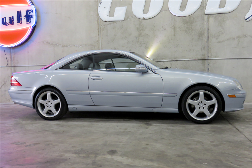2003 MERCEDES-BENZ CL500  - Side Profile - 191291