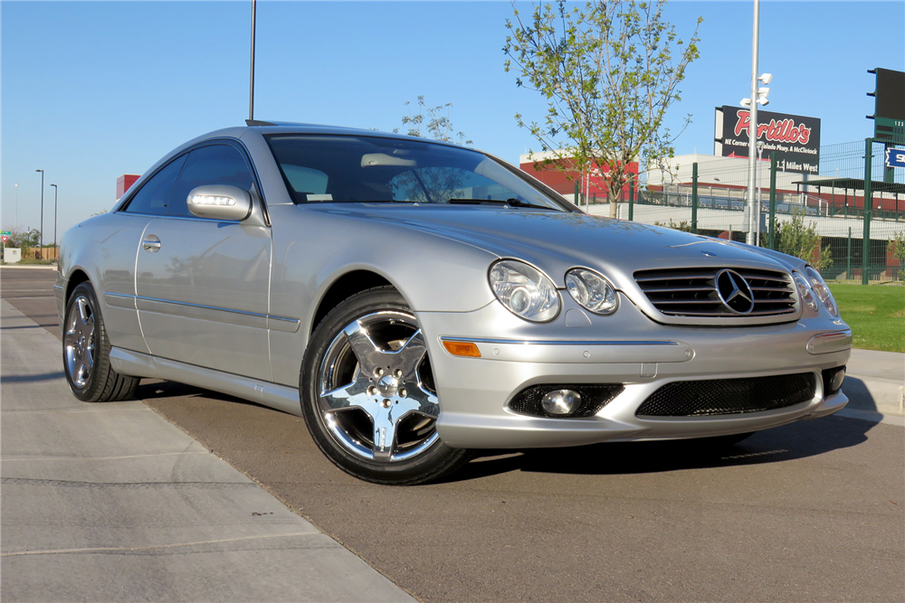 2004 mercedes benz cl500 191292