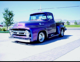 1956 FORD F-100 STREET ROD PICKUP -  - 19130