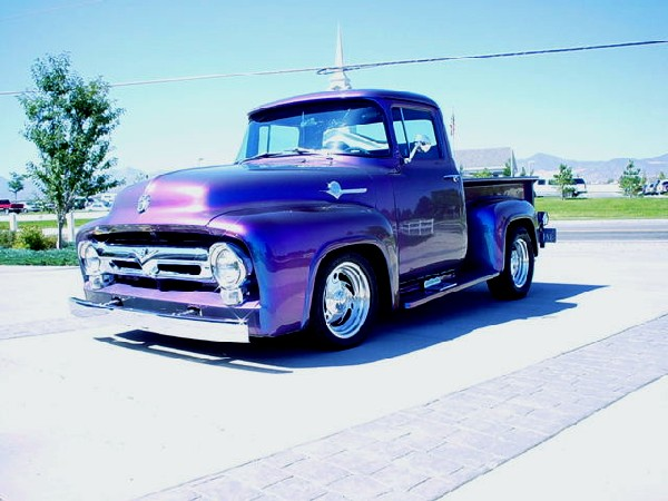 1956 FORD F-100 STREET ROD PICKUP - Front 3/4 - 19130