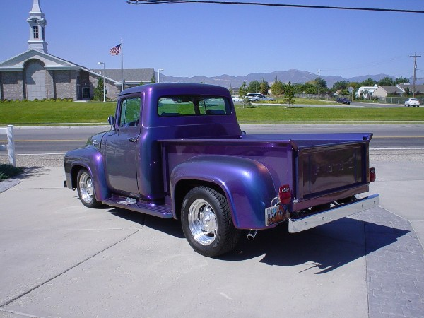 1956 FORD F-100 STREET ROD PICKUP - Rear 3/4 - 19130