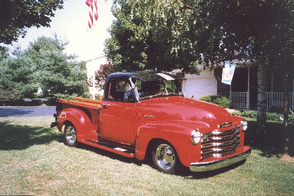 1952 CHEVROLET 3100 PICKUP - Front 3/4 - 19135