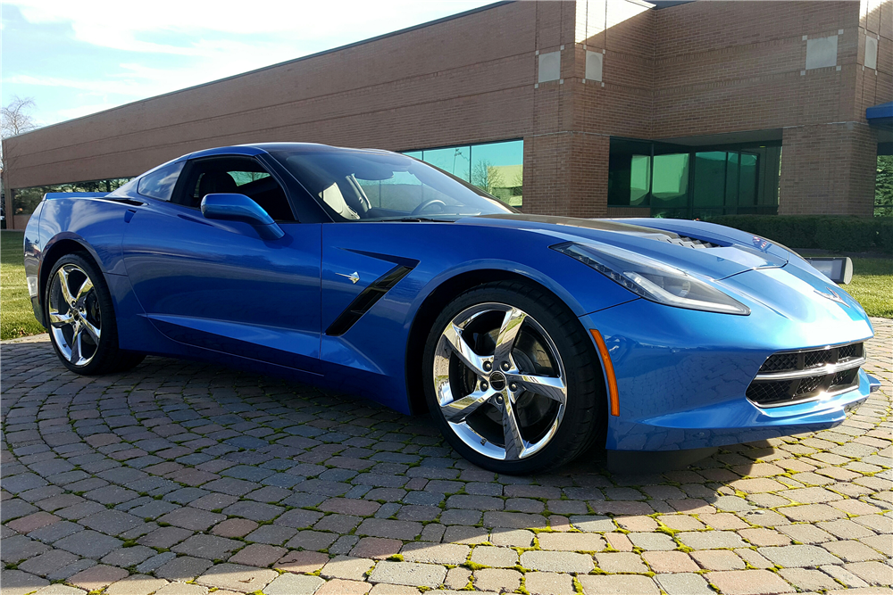 2014 CHEVROLET CORVETTE  - Side Profile - 191350