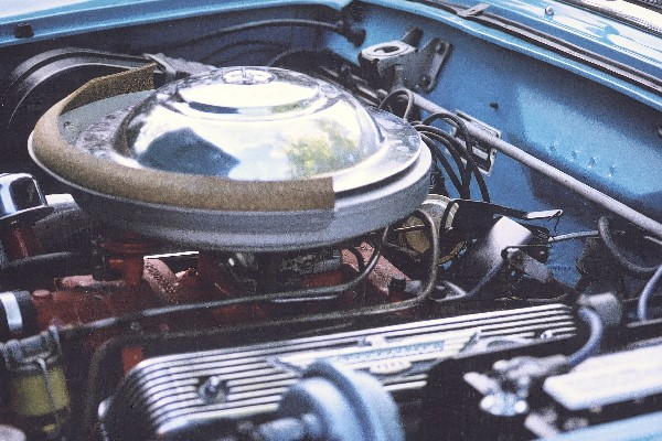 1956 FORD THUNDERBIRD CONVERTIBLE - Engine - 19136