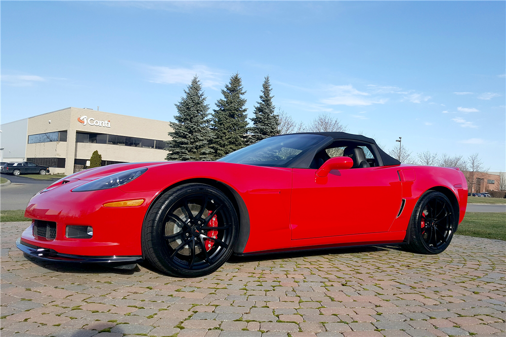 2013 CHEVROLET CORVETTE 427 CONVERTIBLE - Front 3/4 - 191364