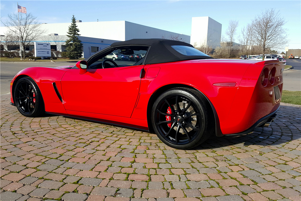 2013 CHEVROLET CORVETTE 427 CONVERTIBLE - Rear 3/4 - 191364