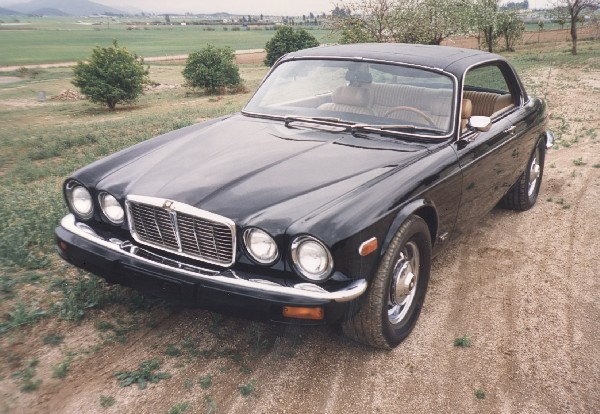 1975 JAGUAR COUPE - Side Profile - 19138