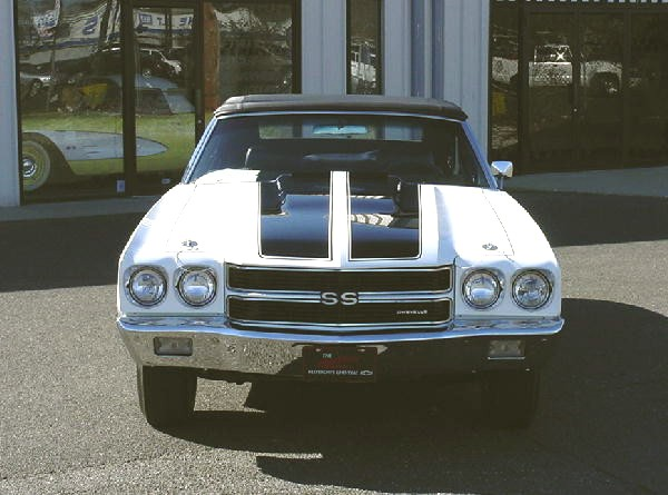 1970 CHEVROLET CHEVELLE CONVERTIBLE - Side Profile - 19144