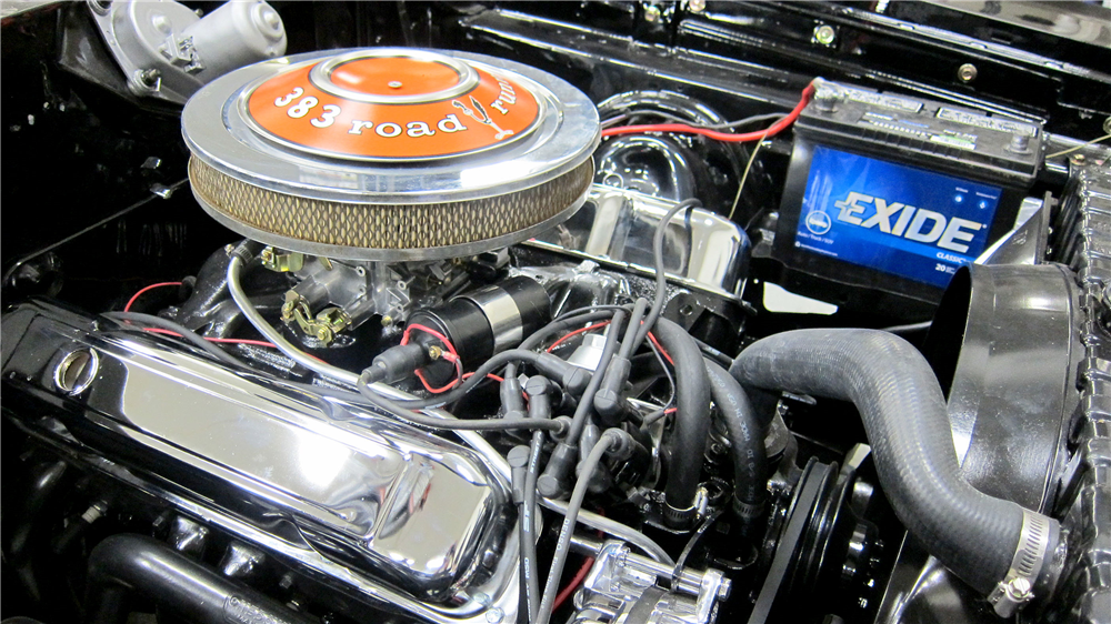 1969 PLYMOUTH ROAD RUNNER CUSTOM HARDTOP - Engine - 191492