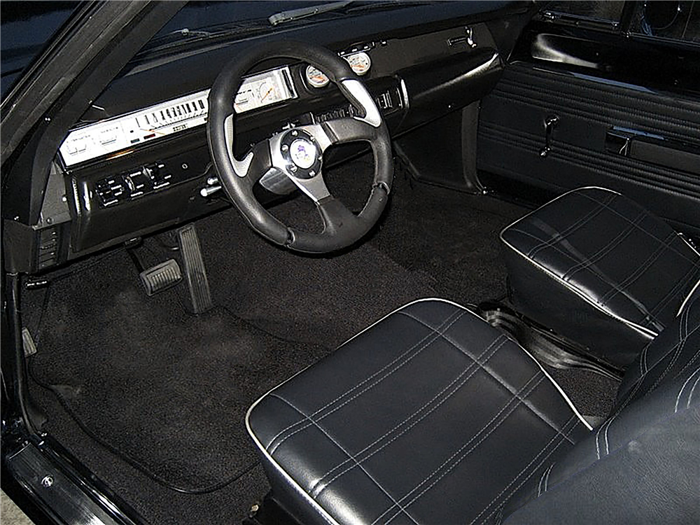 1969 PLYMOUTH ROAD RUNNER CUSTOM HARDTOP - Interior - 191492