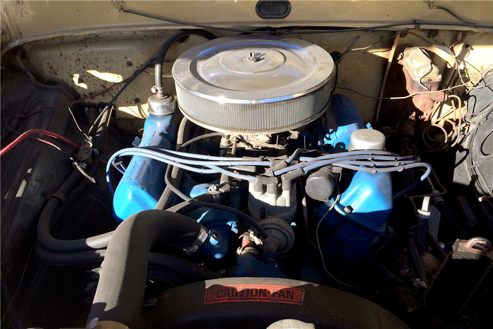 1970 FORD F-100 PICKUP - Engine - 191580