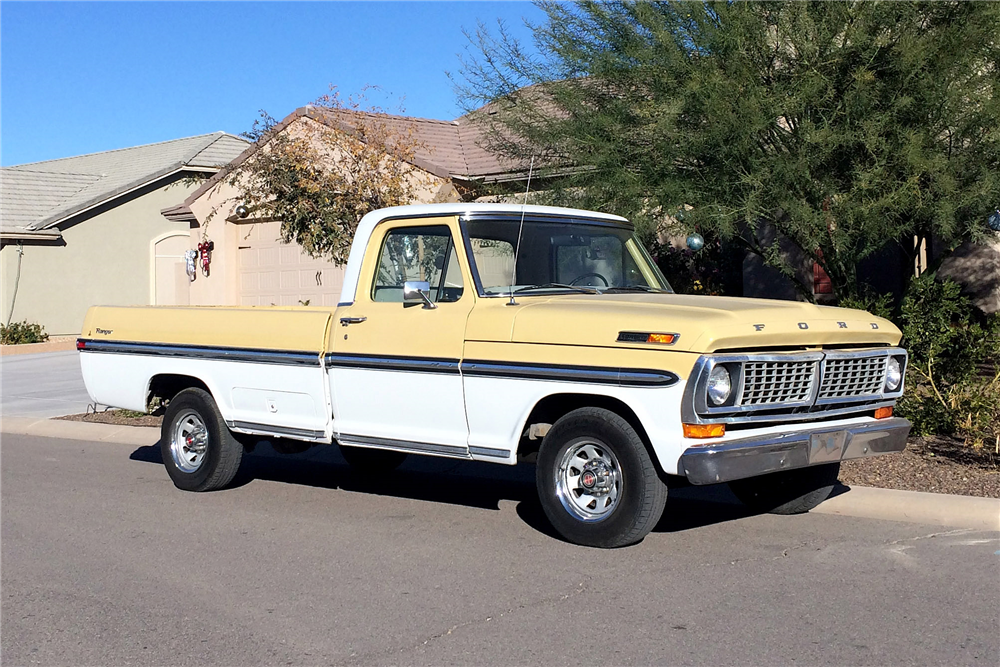 1970 FORD F-100 PICKUP - Front 3/4 - 191580