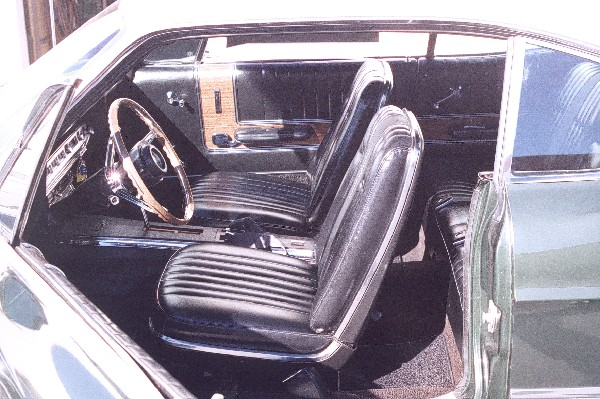 1967 FORD GALAXIE 500 XL 2 DOOR HARDTOP - Interior - 19165
