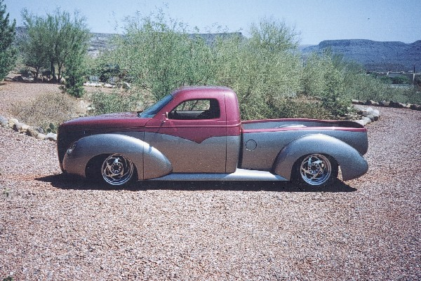 1995 CHEVROLET STUDEBAKER PICKUP HOT ROD - Side Profile - 19185