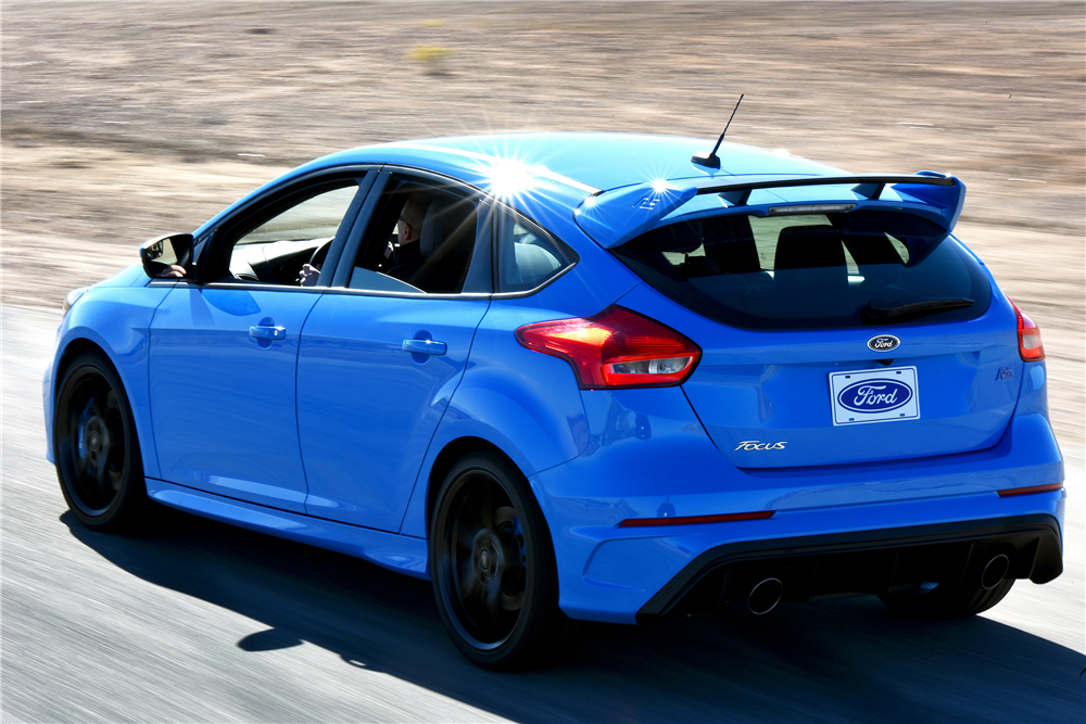 2016 FORD FOCUS RS  - Rear 3/4 - 191862