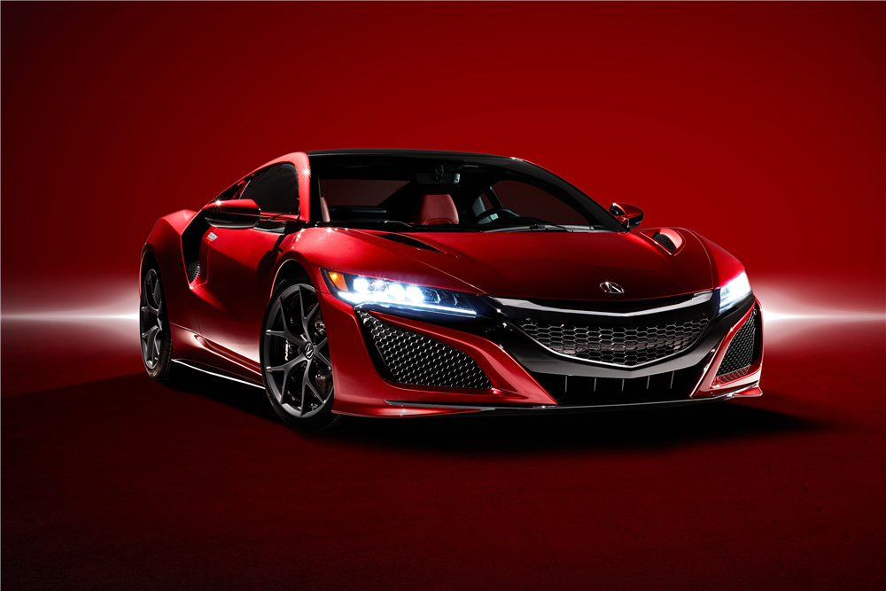2017 ACURA NSX VIN #001 - Front 3/4 - 191874