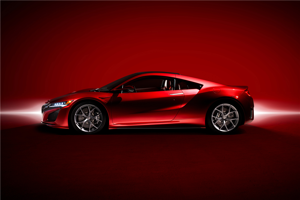 2017 Acura NSX VIN #001 on