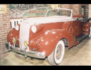 1937 CADILLAC FLEETWOOD CUSTOM BOATTAIL -  - 19191