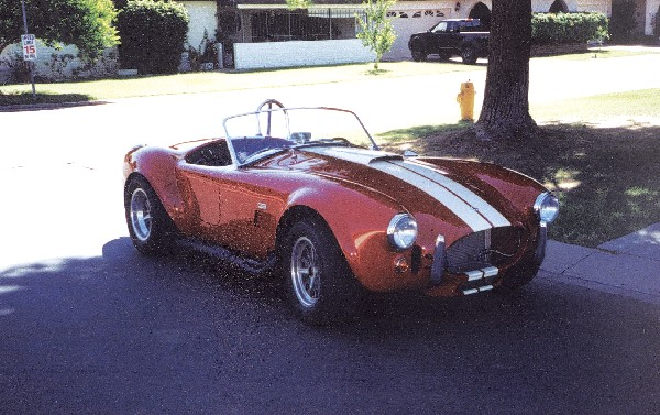 1965 FORD 427 COBRA RE-CREATION - Front 3/4 - 19204
