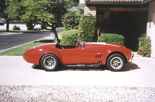 1965 FORD 427 COBRA RE-CREATION - Side Profile - 19204