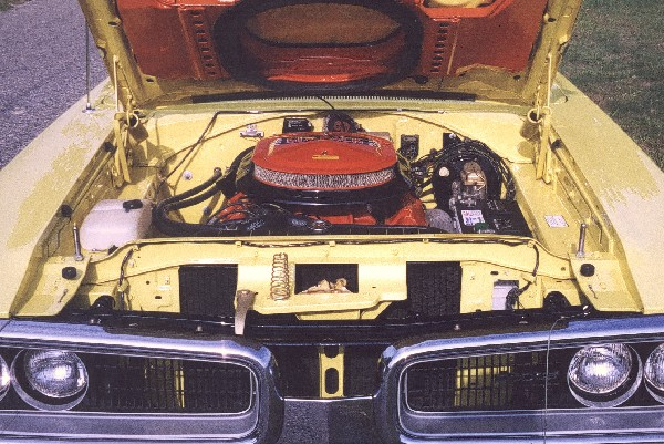 1970 DODGE SUPER BEE COUPE - Engine - 19205