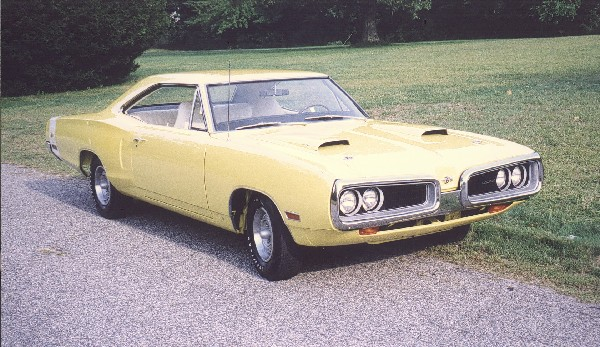 1970 DODGE SUPER BEE COUPE - Front 3/4 - 19205
