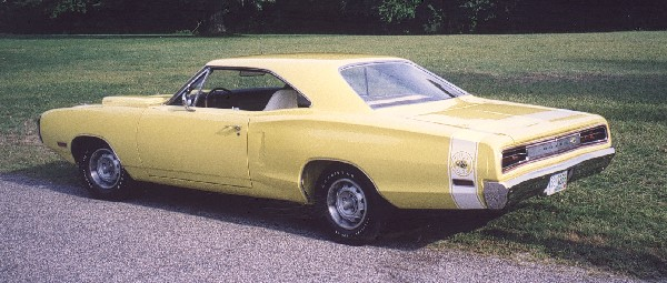 1970 DODGE SUPER BEE COUPE - Rear 3/4 - 19205
