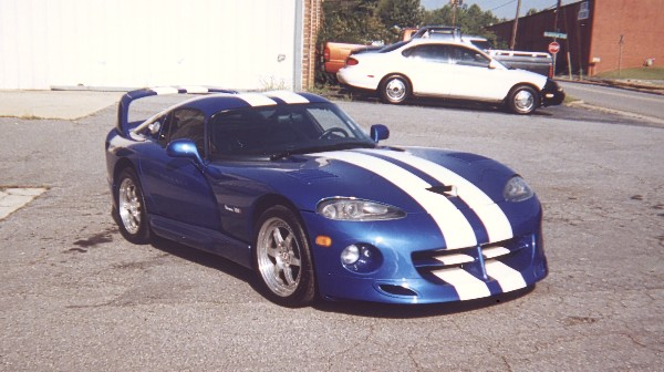 1996 DODGE VIPER COUPE - Front 3/4 - 19212