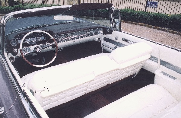 1960 CADILLAC SERIES 62 CONVERTIBLE - Interior - 19213