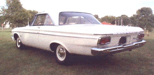 1964 PLYMOUTH BELVEDERE LIGHTWEIGHT 426 COUPE - Rear 3/4 - 19230