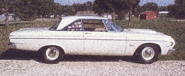 1964 PLYMOUTH BELVEDERE LIGHTWEIGHT 426 COUPE - Side Profile - 19230