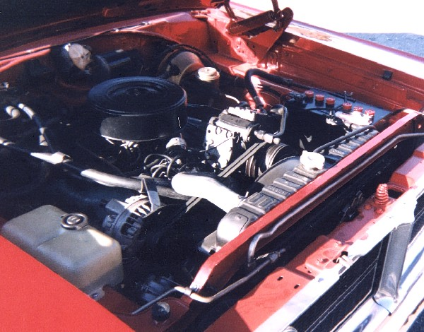 1966 DODGE CORONET 500 CONVERTIBLE - Engine - 19239