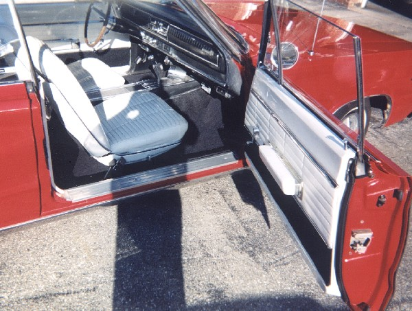 1966 DODGE CORONET 500 CONVERTIBLE - Interior - 19239