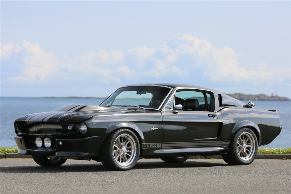1967 SHELBY GT500 E SUPER SNAKE - Front 3/4 - 192475