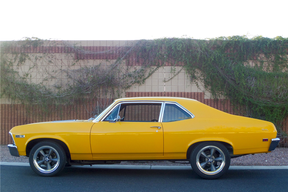 1968 CHEVROLET NOVA SS CUSTOM COUPE - Side Profile - 192478