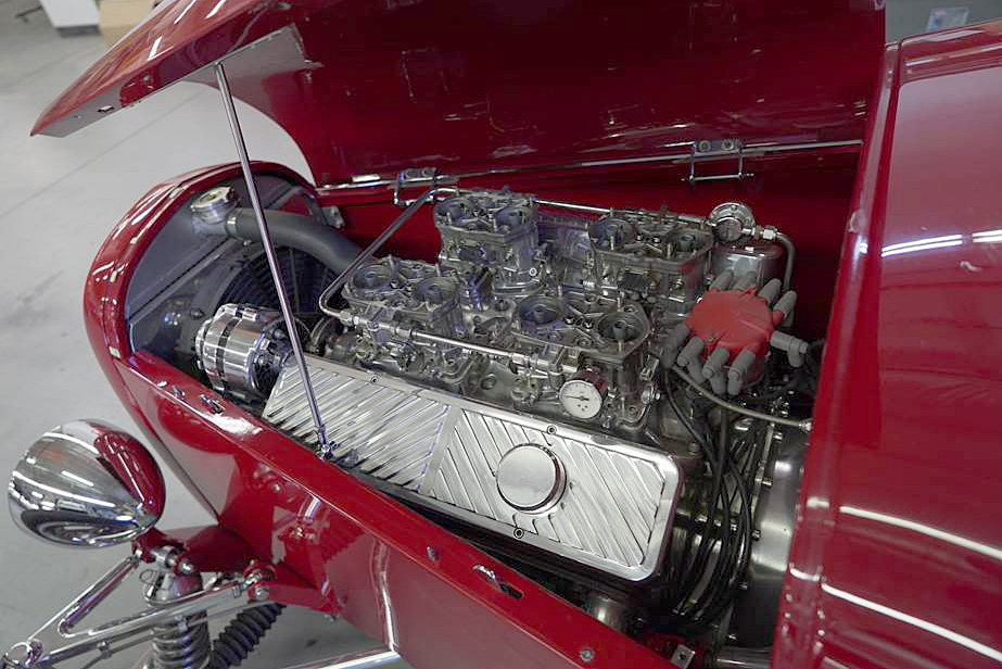 1929 FORD MODEL A CUSTOM ROADSTER - Engine - 192501