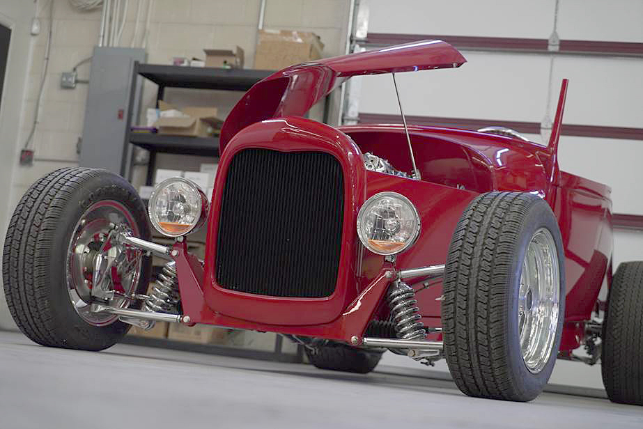 1929 FORD MODEL A CUSTOM ROADSTER - Front 3/4 - 192501