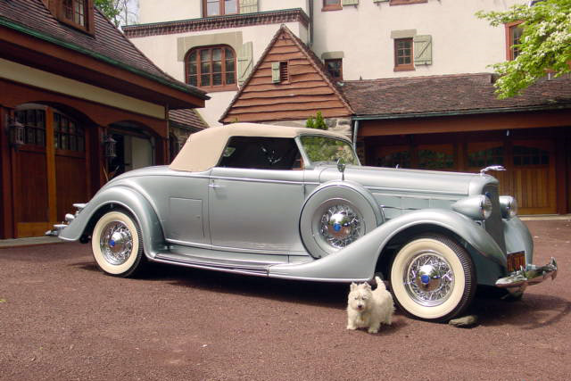1935 LINCOLN K CONVERTIBLE - Misc 1 - 192509