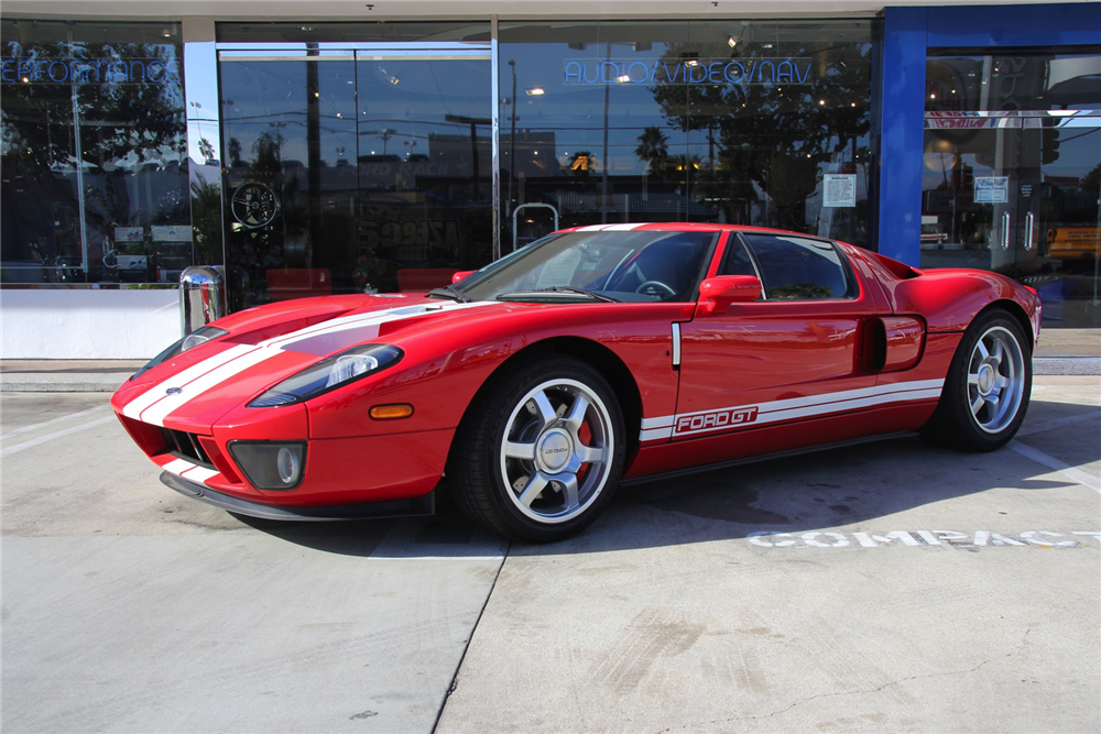 2006 FORD GT  - Front 3/4 - 192512